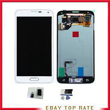 PANTALLA TACTIL LCD PARA SAMSUNG S5 CRISTAL RETINA COMPLETA DIGITALIZADOR Blanca