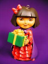 DORA THE EXPLORER RESIN CHRISTMAS ORNAMENT AMERICAN GREETINGS NEW IN BOX