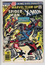 MARVEL TEAM UP ANNUAL #1 Spider-Man X-MEN 1976