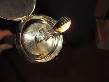 Mw.A.544M: Gadget Hidden Ash Tray Silver Handle On Ash Wood Walking Stick Cane