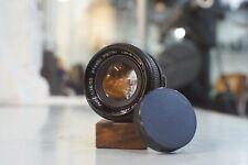 Petri CC Auto 55mm f1.8 M42 Screw Mount Thorium Pancolour Lens