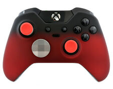 Shadow Red CUSTOM PAINTED Microsoft Xbox One Elite Official Wireless Controller