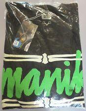 RARE Black BONE FRAME LOGO size 2XL Skate T-Shirt from MANIK
