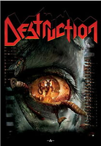 DESTRUCTION Day Of Reckoning Textile Poster Flag Rock Official Merchandise