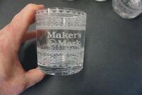 Maker's Mark Limited Edition Holiday Sweater Rocks Glass