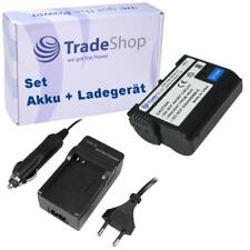 AKKU + LADEGERÄT für Nikon EN-EL15, verwendet in D7000 D7100 D8000 MBD-11 MBD-12