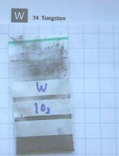 10 gram 99.95% Tungsten metal powder element 74 sample