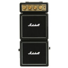 Marshall MS-4 Black Portable Micro Amplifier for iPhone iPod Samsung Speaker Amp
