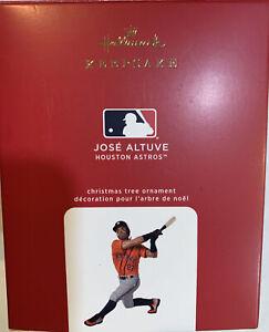 2020 Hallmark Keepsake Jose Altuve Houston Astros Baseball MLB Ornament