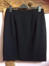 Hobbs Black Pencil Skirt Size 12 VGC (business/work)