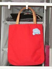 STEFANEL borsa cotone rossa