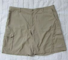 Magellan Hiking Fishing Cargo Shorts Lightweight Polyester Size 44 Round Rock