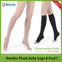 30-40 mmHg Compression Socks Support Relief Leg Varicose Veins Pain Stockings