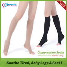 d409e70590 30-40 mmHg Compression Socks Support Relief Leg Varicose Veins Pain  Stockings
