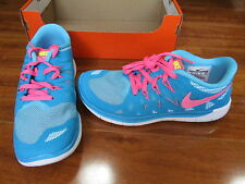 a6de85a169c7f NEW NIKE FREE 5.0 (GS) Running Shoes Girls 6Y BLUE LAGOON PINK 644446