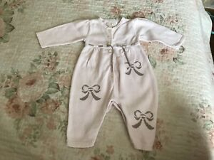 Emile et rose baby girl outfit 1 month