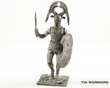 Spartan heavy hoplite  Tin toy soldiers 54mm miniature figurine. metal sculpture