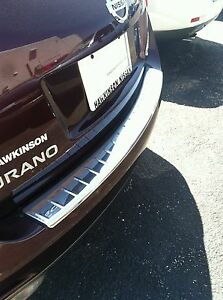 NEW OEM 2009-2014 Nissan Murano Rear Stainless Bumper Cover