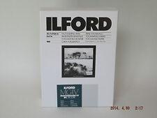 Ilford mgiv RC DELUXE 5x7 PEARL 100 camera oscura carta