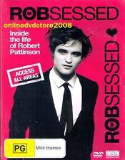 ROBSESSED - Inside the life of ROBERT PATTINSON - DVD (NEW SEALED) Region 4