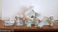 Precious Moments Sugar Town Schoolhouse (Set of 6) ALL INDIVIDUAL BOXES (PR13)