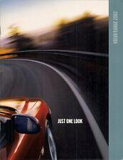 Volvo 2002 UK Market Sales Brochure S40 V40 S60 V70 XC C70 S80 XC90