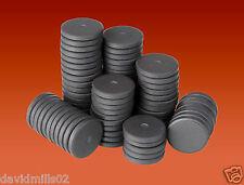 100 MAGNETI a Disco Rotondo 20mm x3mm magneti in ferrite in ceramica del disco per Craft & Frigo