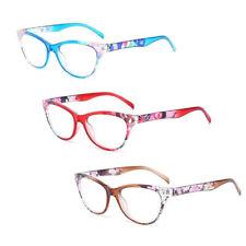 Retro Floral Reading Glasses Presbyopic Magnifying Reader Presbyopia Eyeglasses
