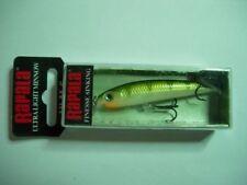 1 Appâts, leurres et mouches jaunes pour la pêche au carnassier