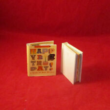 Happy Birthday mini pop up book