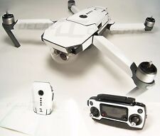 DJI Mavic Gloss White Full Graphic Wrap kit - Decal Skin Sticker Pro