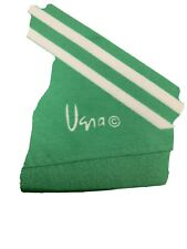 Vintage Vera Silk Scarf Japan Hand rolled Green Oblong