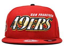 San Francisco 49ers TRANSFADE SNAPBACK 9Fifty New Era NFL Hat = Med/Large