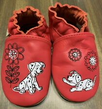Robeez Infant Baby Silver Shoes 6-12M Month Soft Leather Sole Loved /& Cherished