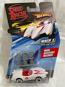 Hot Wheels Speed Racer Mach 5 with Jump Jacks ( Damaged card )