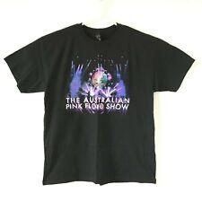 Australian Pink Floyd Show 2014 Black Tshirt Tour Mens L Music Concert