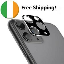 iPhone 11 camera protector Apple metal case cover silver/black strong