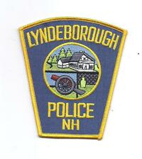 **LYNDEBOROUGH NEW HAMPSHIRE POLICE PATCH**