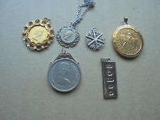 More details for job lot vintage royalty jewellery including silver mount + gold plate ref 358 x