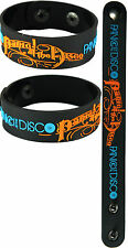 PANIC! AT THE DISCO  NEW! Bracelet Wristband aa111 Blue/Too Weird to Live
