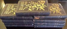 9 Volume Book Set: Bulwer's Works - Lord Lytton - P F Collier, Antique