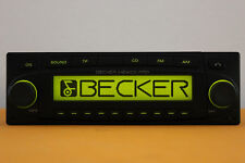 Becker Radio Autoradio Mexico Pro mp3 be 7938 PORSCHE MERCEDES VW SKODA FORD BMW