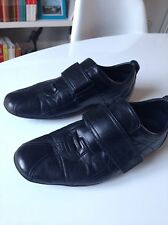 Chaussures Gucci Sneakers Cuir Noir Taille 42