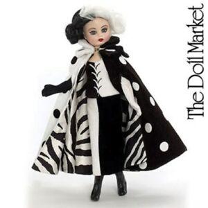 Madame Alexander 10'' Cruella De Vil Cissette Doll Disney New in Box