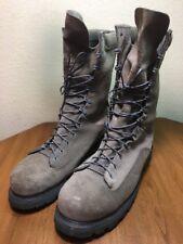 Matterhorn Mens 12 M Steeltoe Gore Tex Desert Green Military Combat Boots