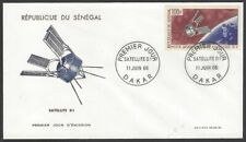 Senegal #C46 1966 Launching of the D-1 Satellite FDC