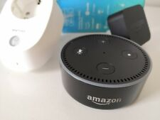 gebrauchen Amazon Echo Dot (2. Generation) - Schwarz +WLAN Steckdose