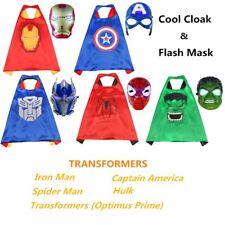 Superhero Avenger LED Flash Iron man Capital America Spider man Halloween Batman