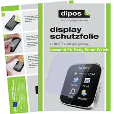 1x Sony smartwatch protector de pantalla mate anti-reflejo precisas