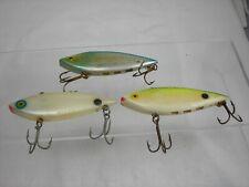 Vintage Used Lipless Fishing Lures Cordell Aquasonic